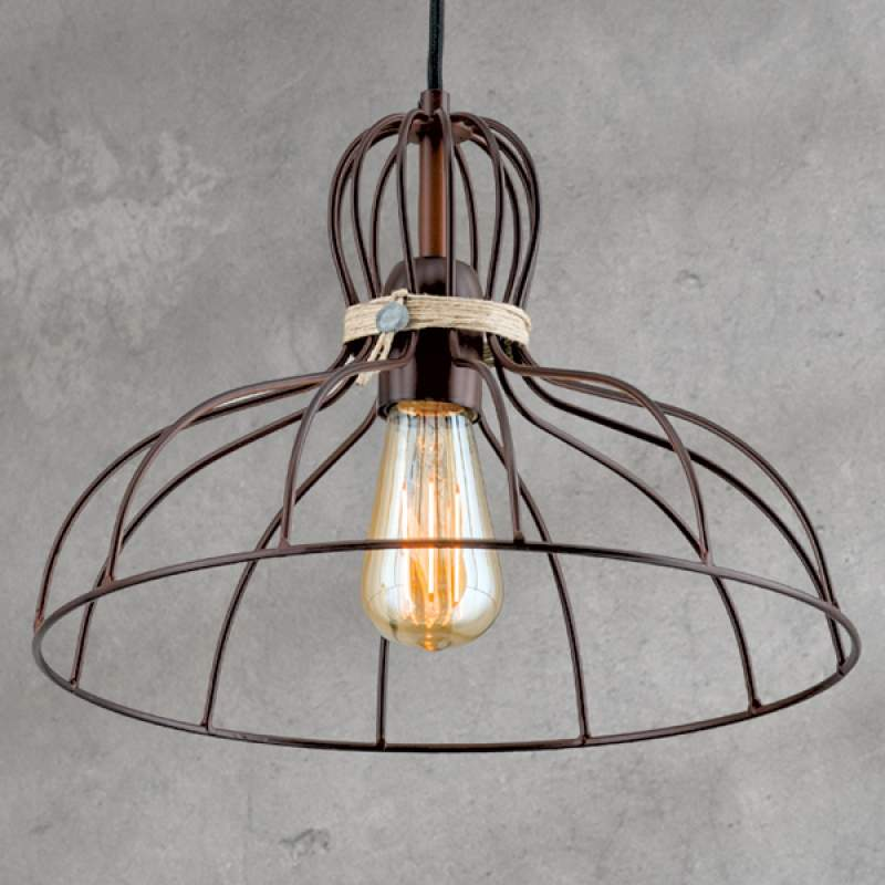 Hanglamp Dilip met vintage charme