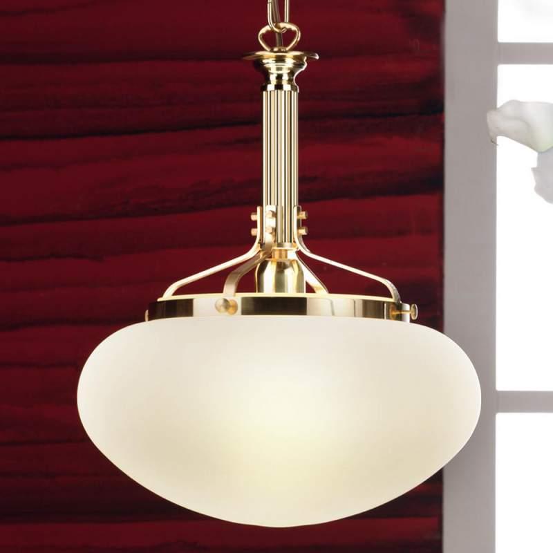 Traditionele hanglamp Ophelia, 1 lichtbron