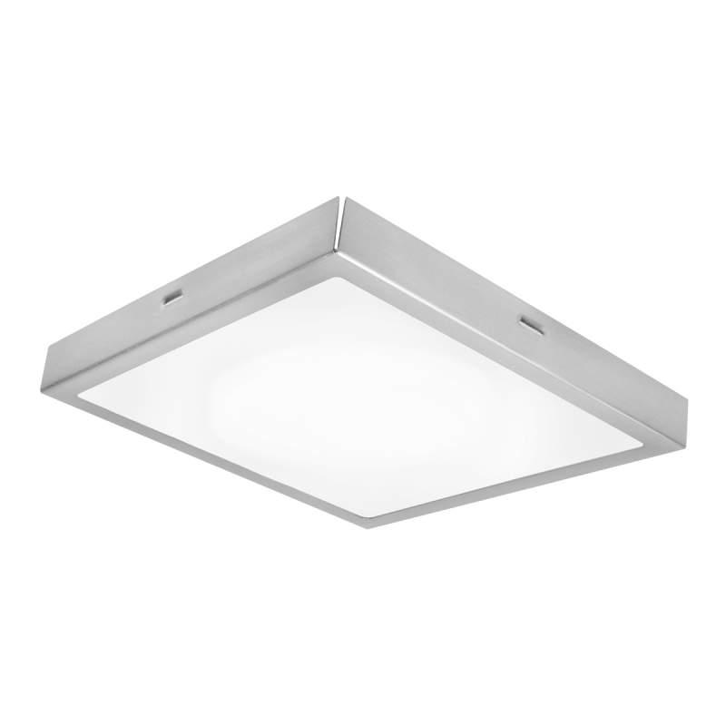 Tijdloze LED plafondlamp Vela - 22 x 22 cm, ww