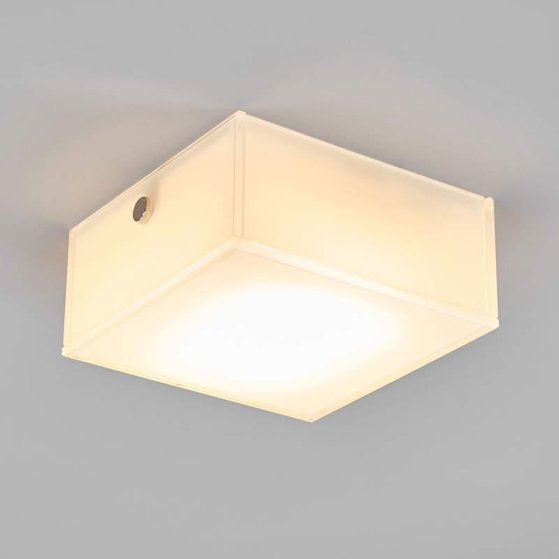 Vierkante LED plafondlamp Quadro