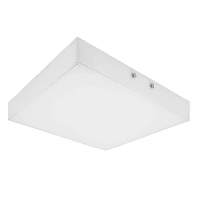Subtiele LED plafondlamp Quadro