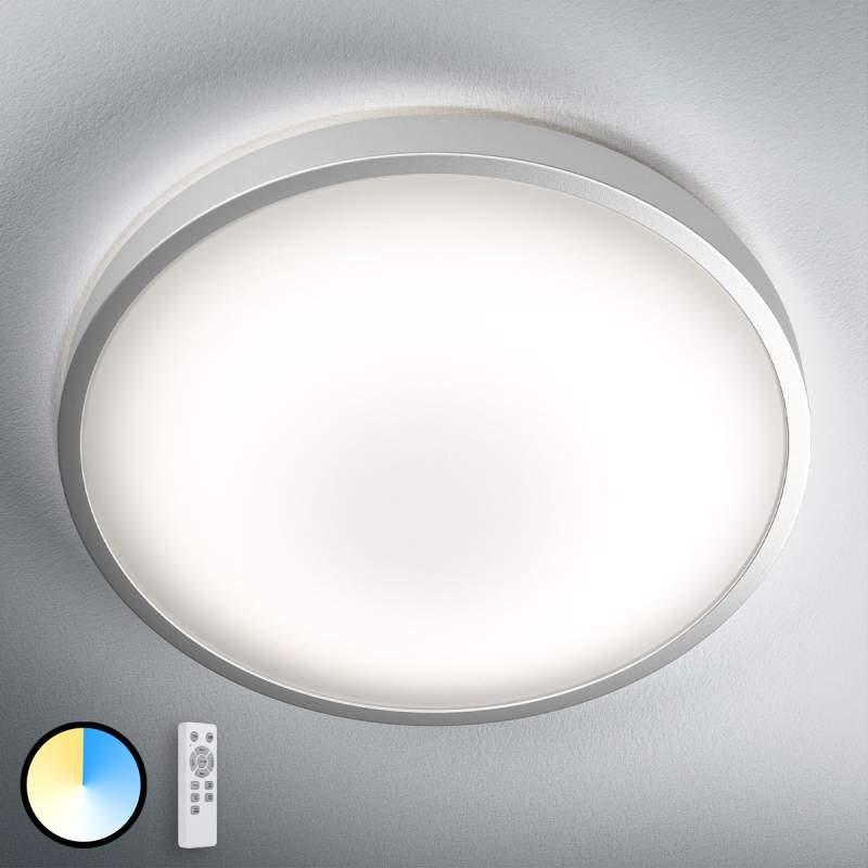 Met CCT afstandsbediening - LED plafondlamp Silara