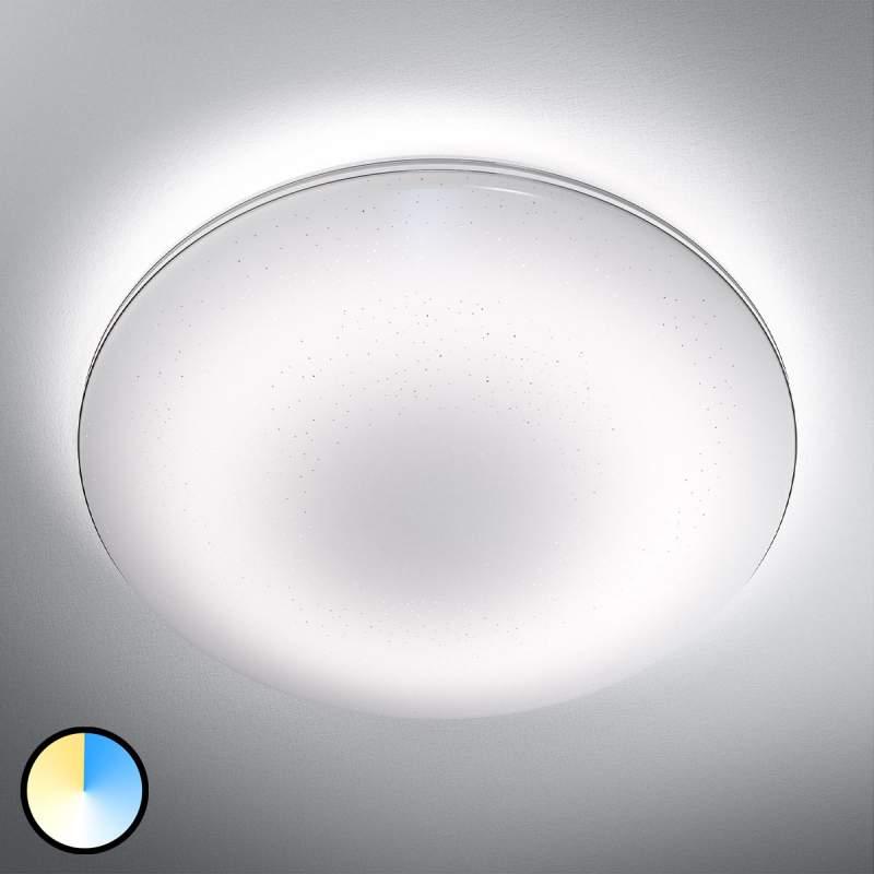 LED plafondlamp Silara Sparkle met Click-CCT