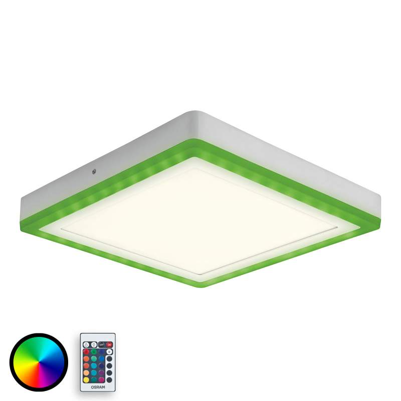 Moderne LED plafondverlichting Color+White Square