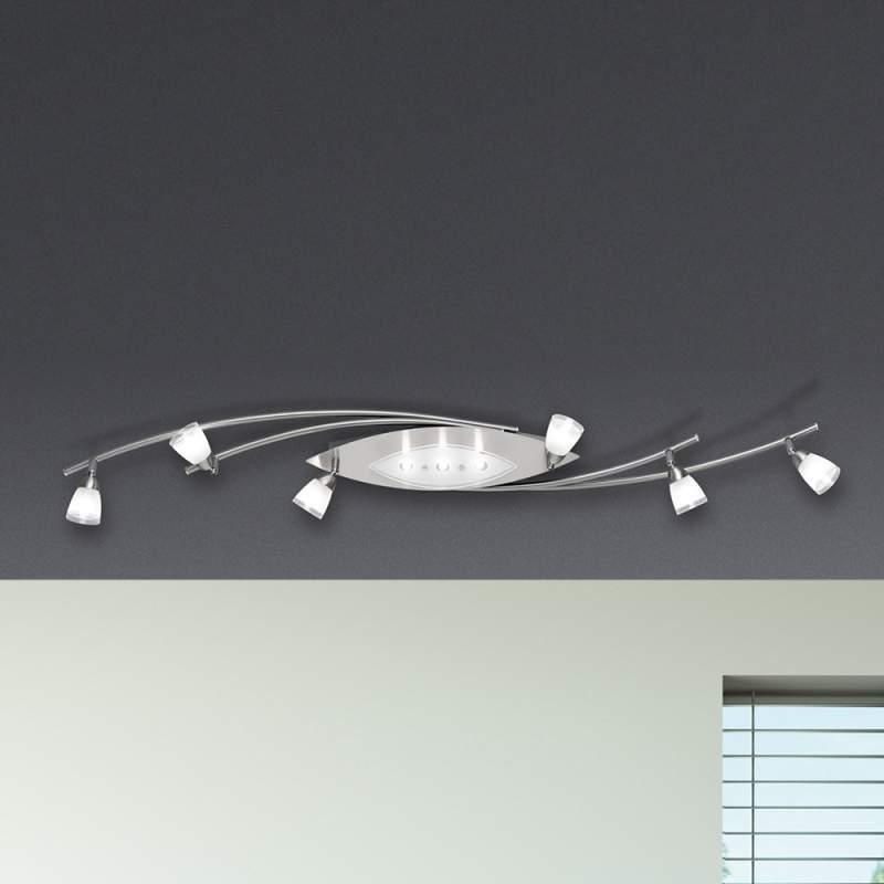 Moderne plafondlamp Vina 9-lichts