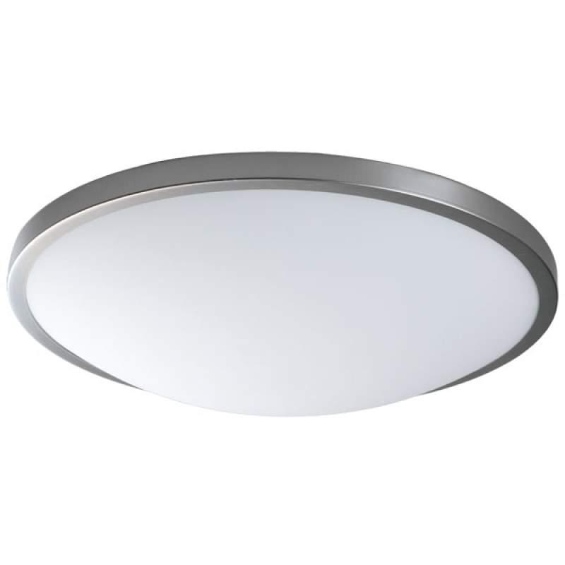 Klassieke plafondlamp Santos in mat nikkel