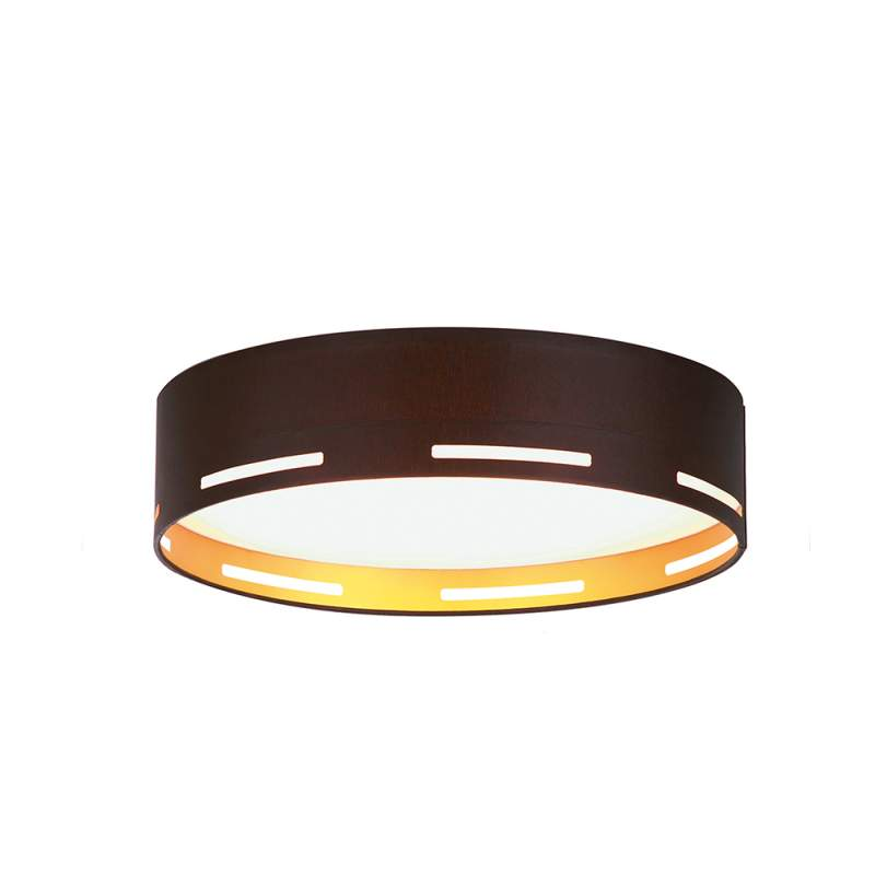 Moderne LED stof plafondlamp Omnia, 40 cm