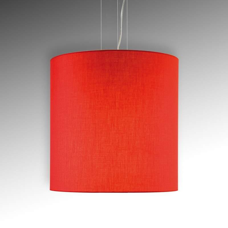 Leuke hanglamp Tono, rood, diameter 45 cm