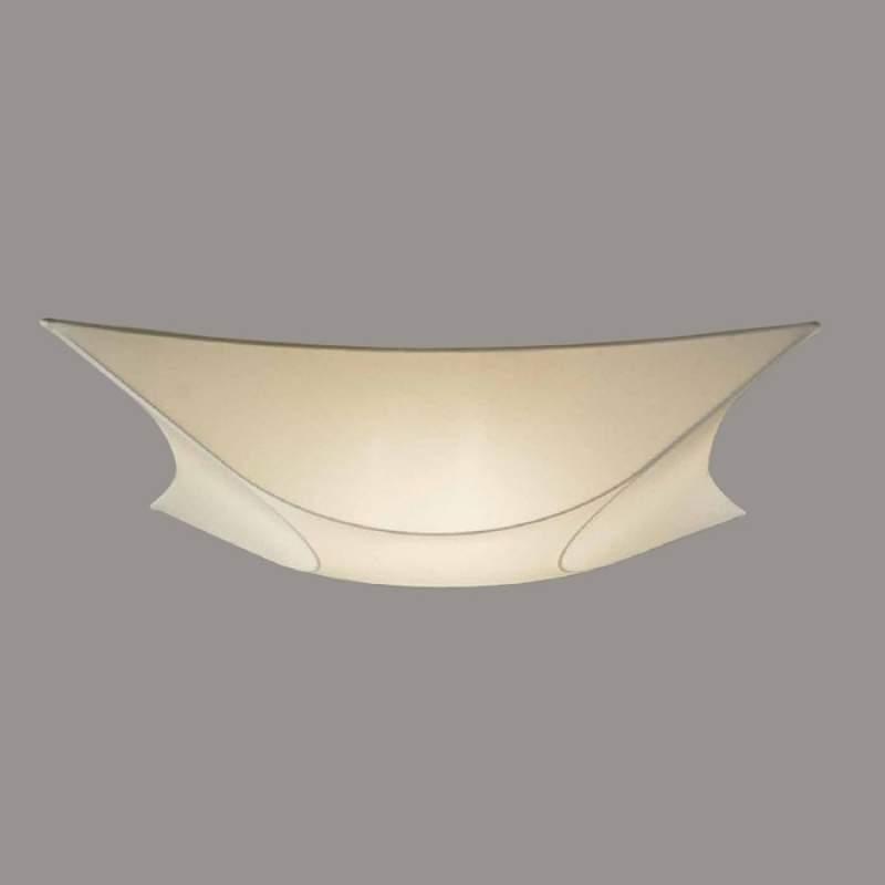Bijzondere wandlamp Rino, 60 cm x 60 cm