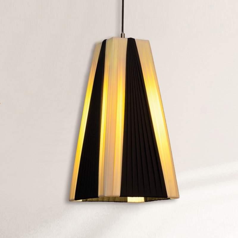 Contrastrijke hanglamp Mary, 33 cm