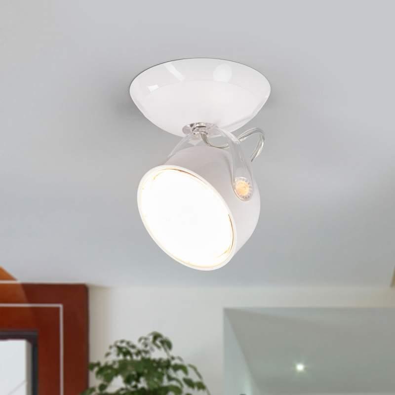 Witte LED-spot Dyna, 1-lichts