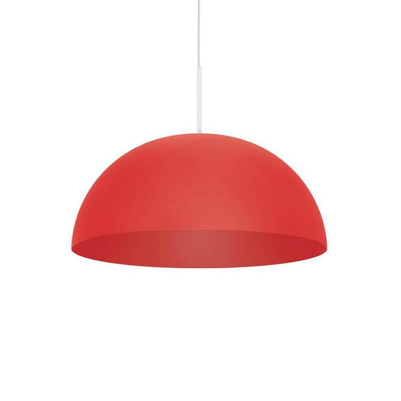 Rode metalen LED hanglamp Rye