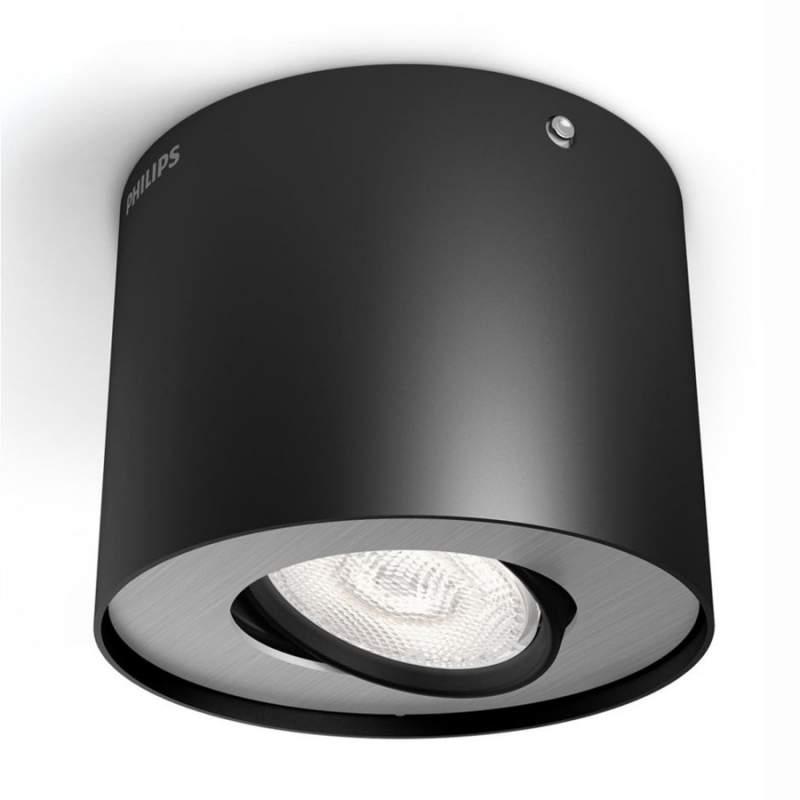 Zwarte LED downlight Phase