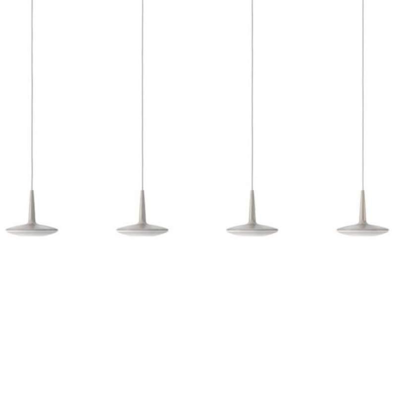 LED hanglamp Attilio met vier lampen