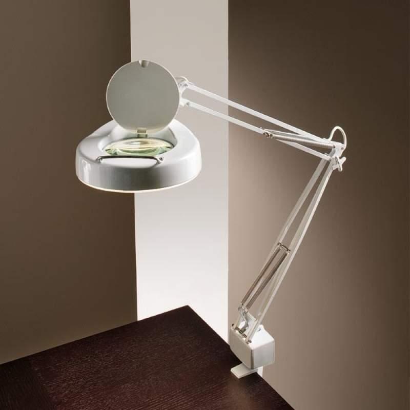 Loeplamp LUME met tafelklem