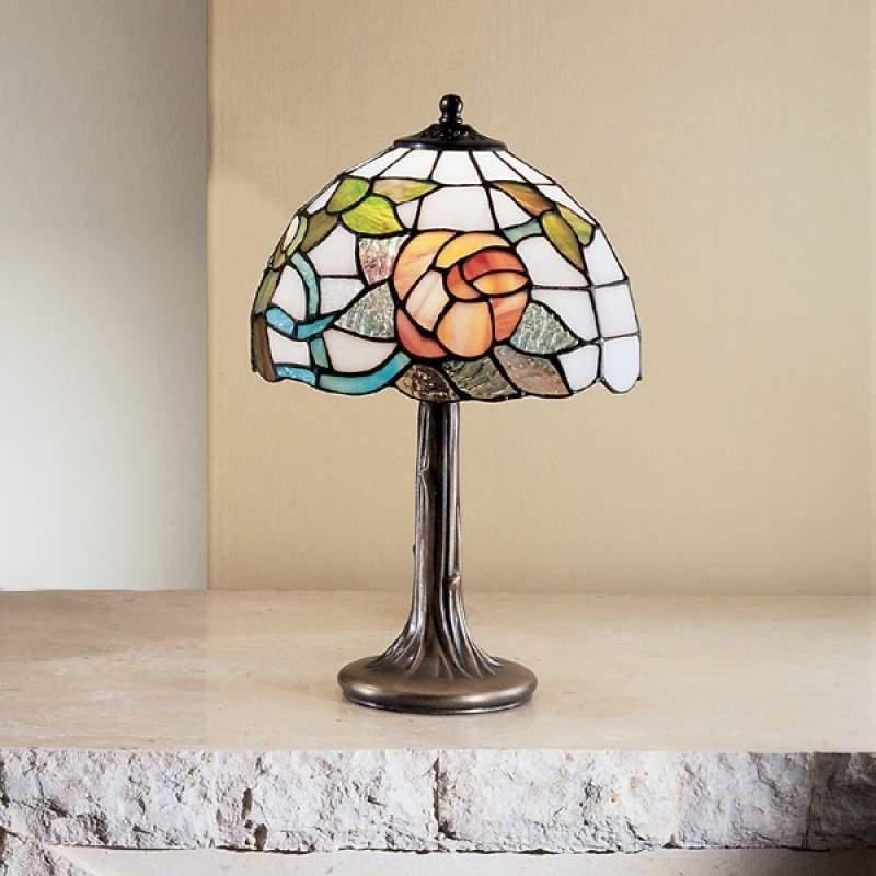 Klassieke tafellamp VIENNA in Tiffany-stijl, klein