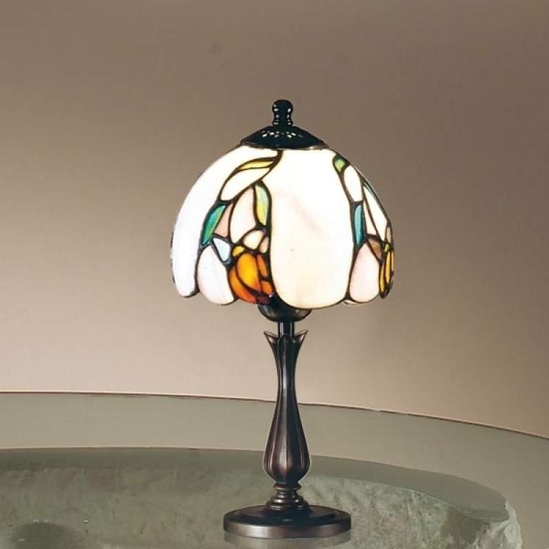 Klassieke tafellamp ISABELLA in Tiffany-stijl, kl.