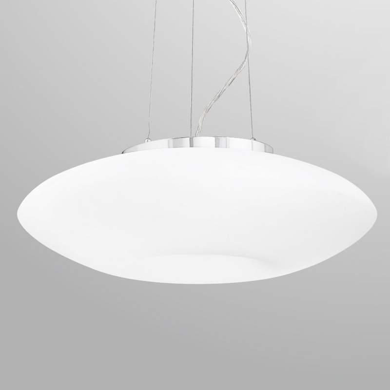 Witte hanglamp Conny, 50 cm