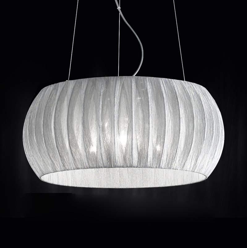Fascinerende textiel hanglamp Amaru 45 cm