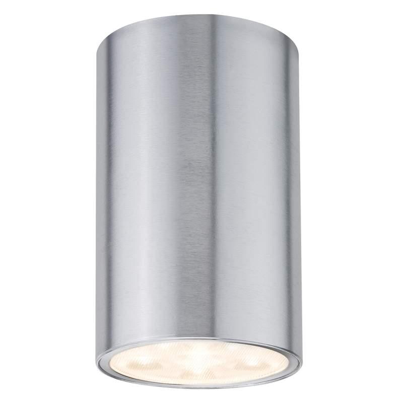 Cilindrische plafondlamp Barrel met led