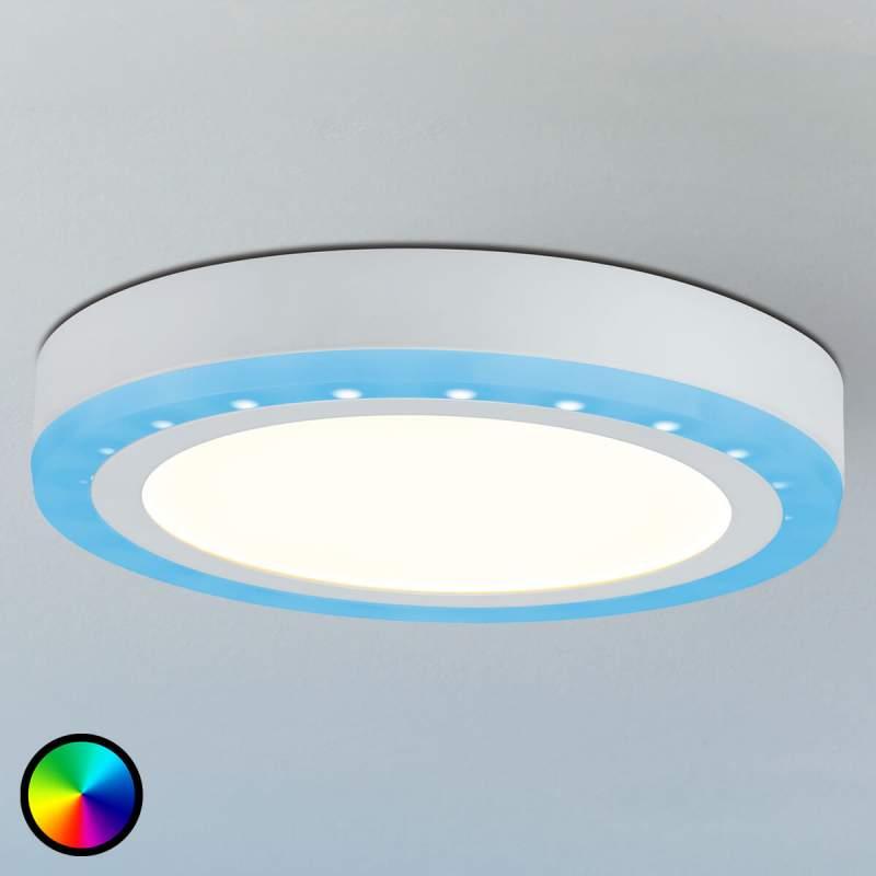 Led plafondlamp Sol met RGB-kleurwissel functie