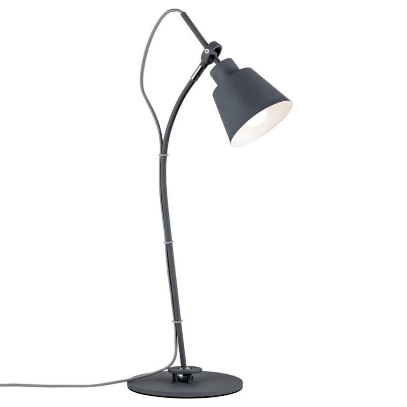 Buigbare tafellamp Thala in trendy grijs