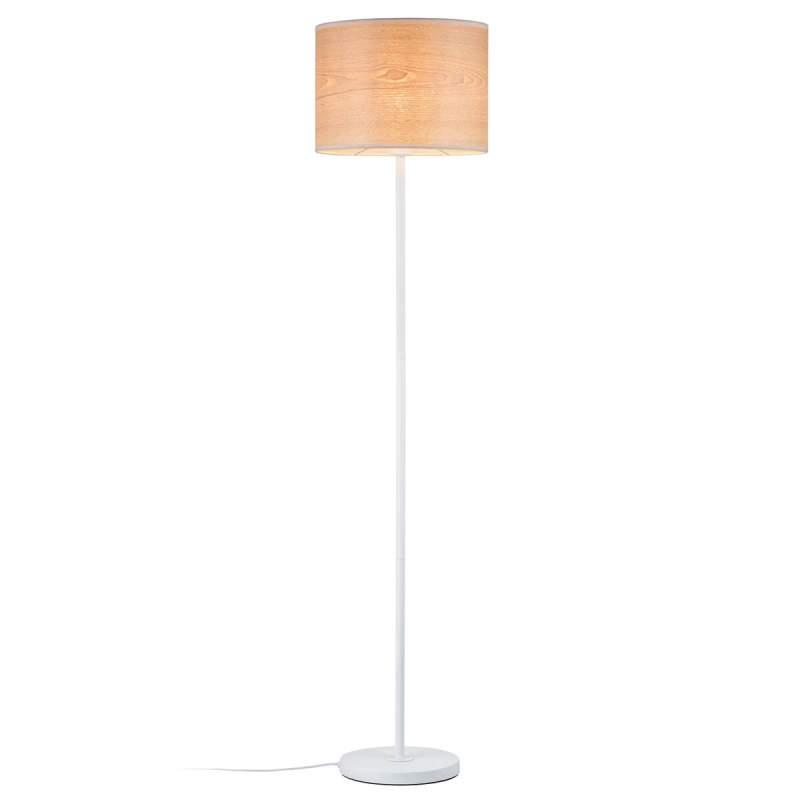Gemaakt van doorschijnend hout - vloerlamp Neta
