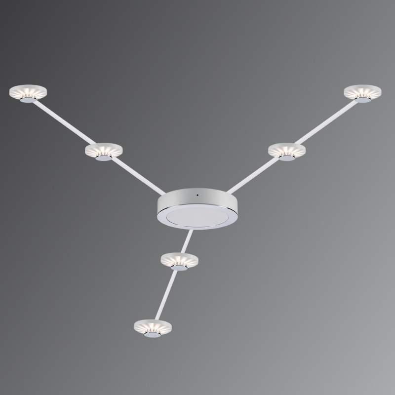 Effectieve LED plafondlampenset Frill 6 lamps