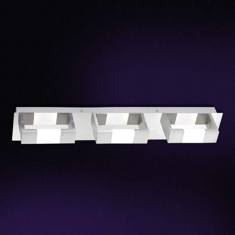Opvallende LED wandlamp Kemos, 55 cm