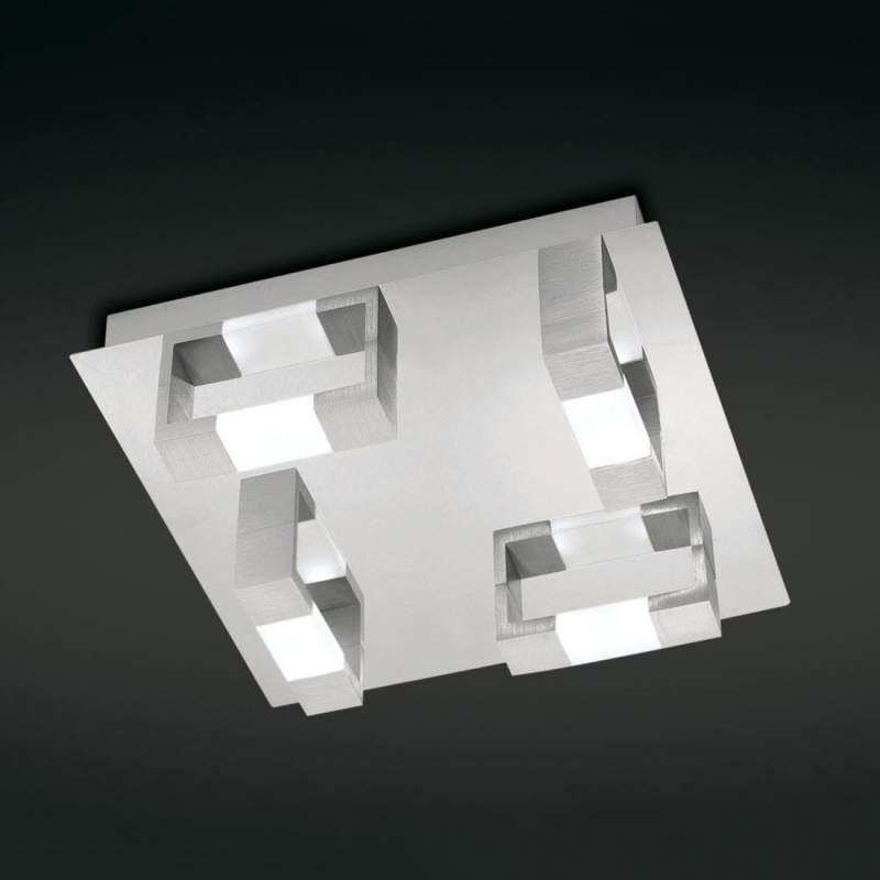 Rechthoekige LED plafondlamp Kemos