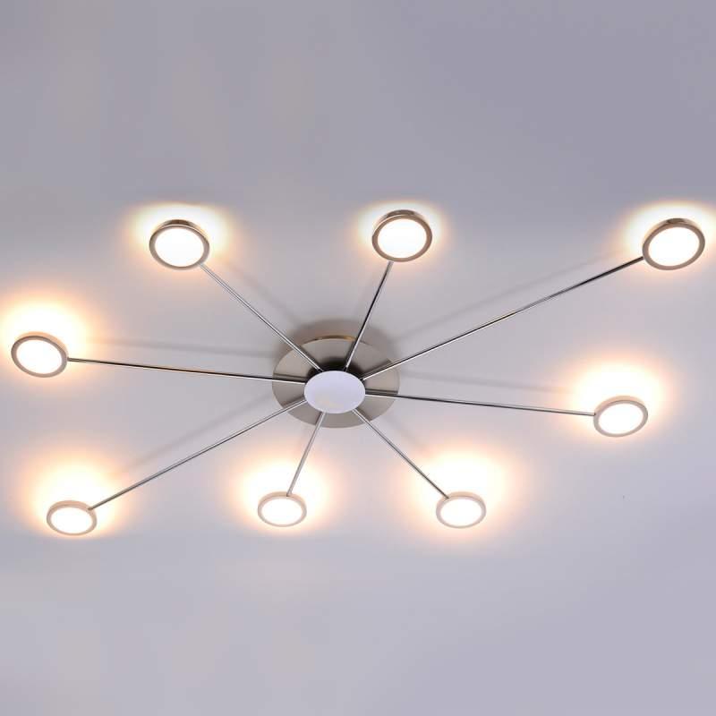 LED plafondlamp Adela met acht lichtbronnen