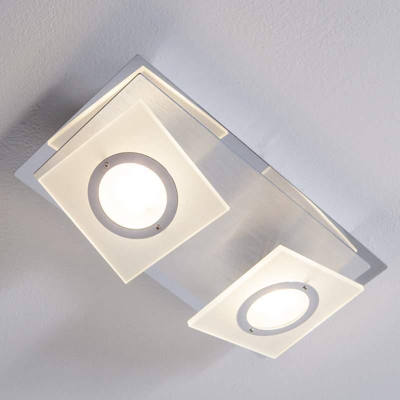 LED plafondlamp Linnea 2 lichtbr.