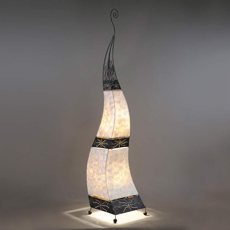 Oosters overkomende staande lamp Abuja