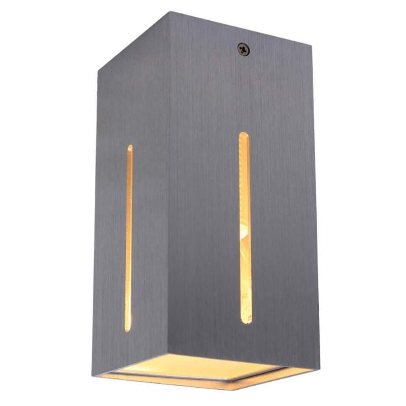 Plafondlamp IKARO - eenvoudig en functioneel alu