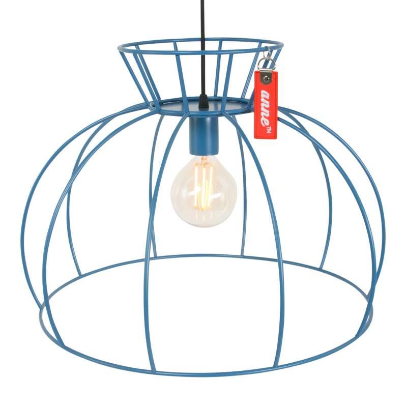 Trendy hanglamp Crinoline, blauw
