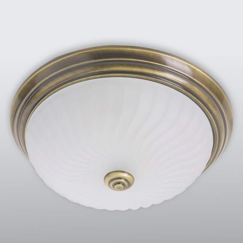 Klassieke plafondlamp rustiek, 2 x 60W