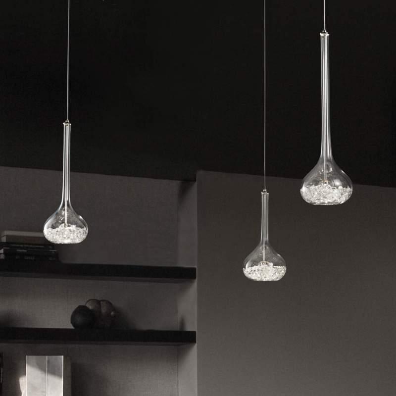 Sierlijke hanglamp Graal, 1-lichts