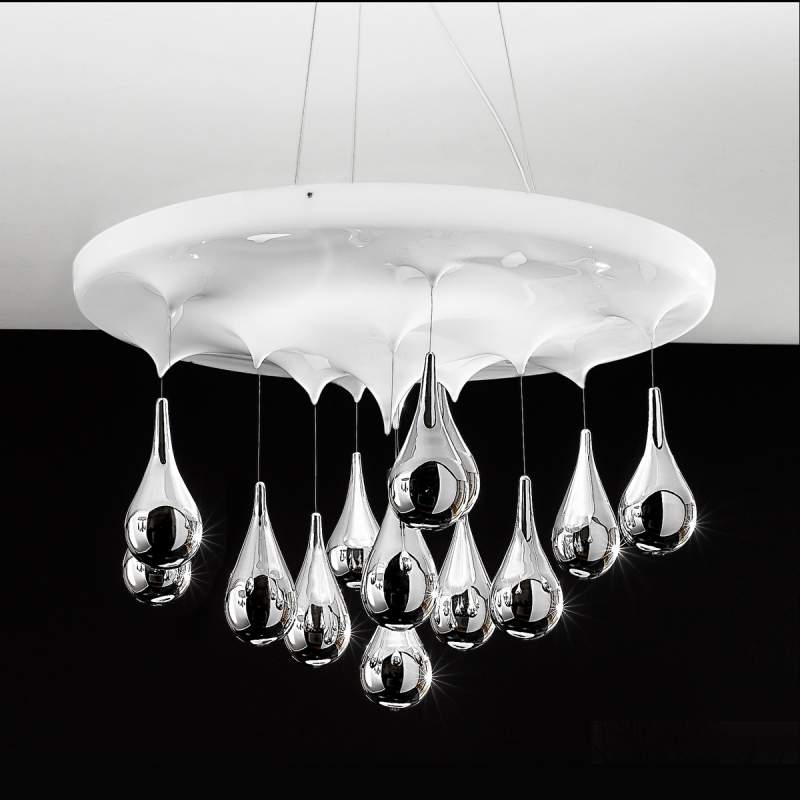 Uitgezochte hanglamp Pioggia Ø 50 cm/ H 33 cm