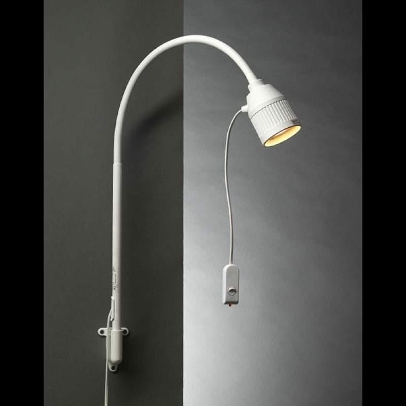 Led-bedlampje met flexarm en rood licht