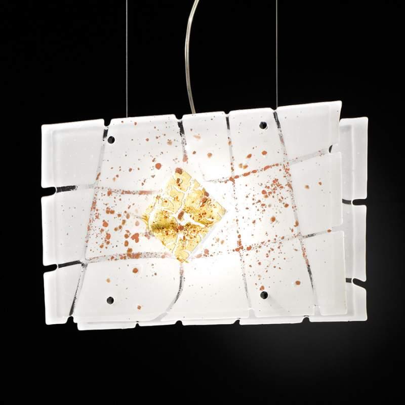 Frame-hanglamp met elegant design, 38 cm