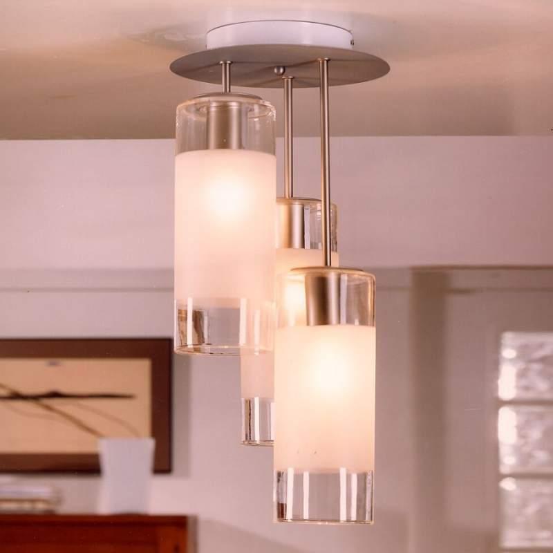 Plafondlamp SIXTY met interessant lichteffect