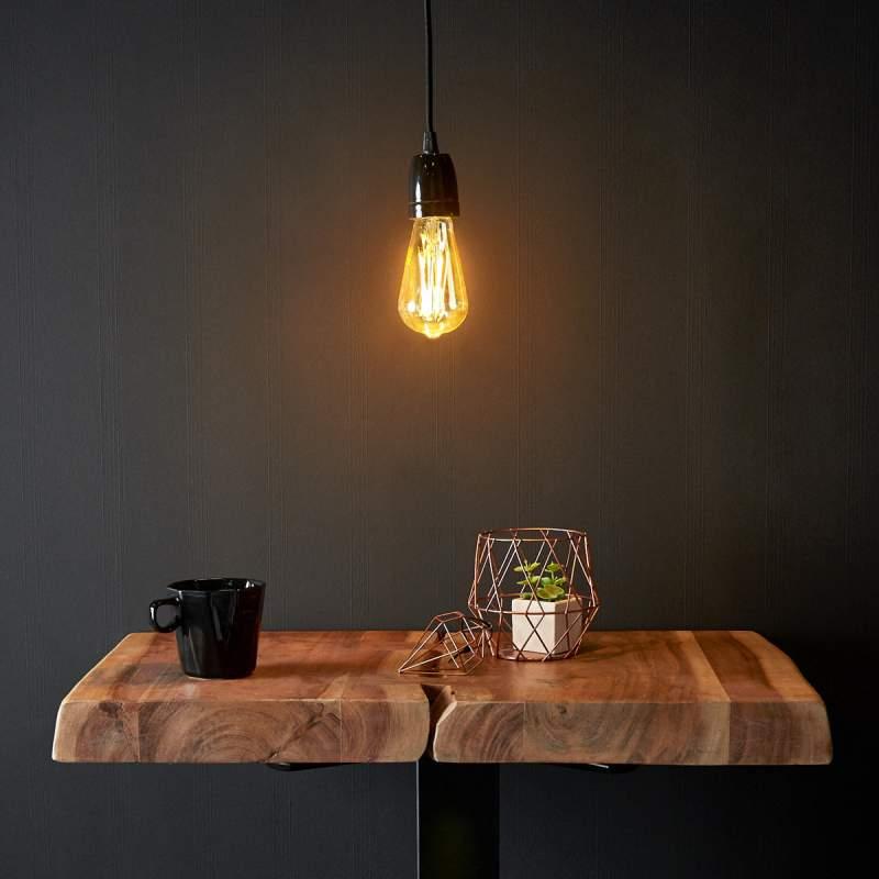 Classic - een LED-hanglamp met pit