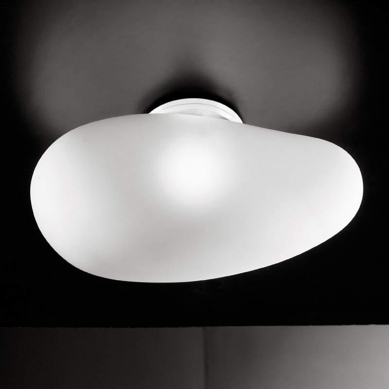 Onopvallende plafondlamp BLOB