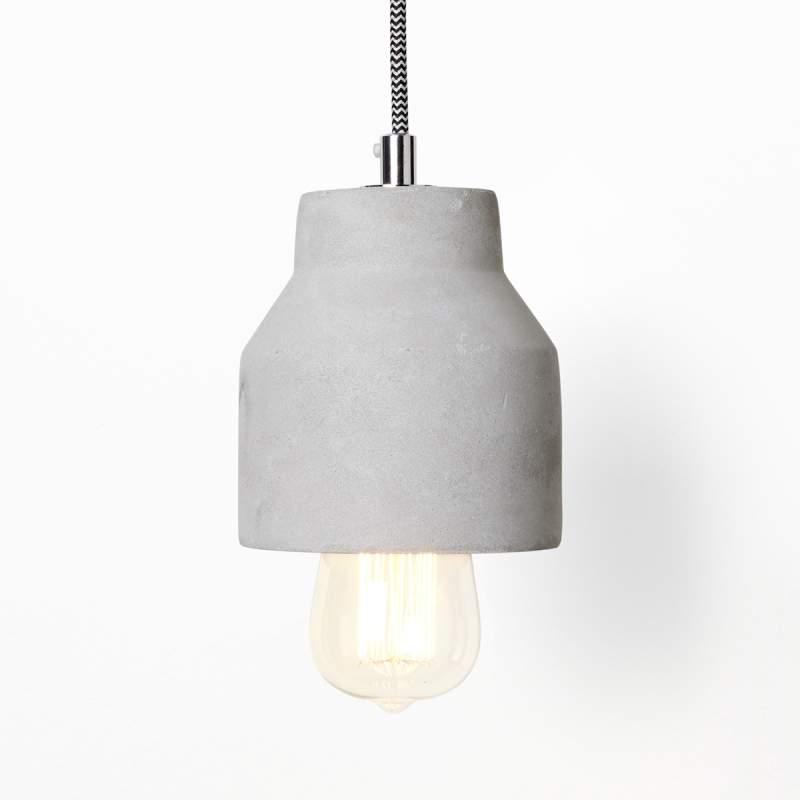 Hanglamp Indi van licht beton