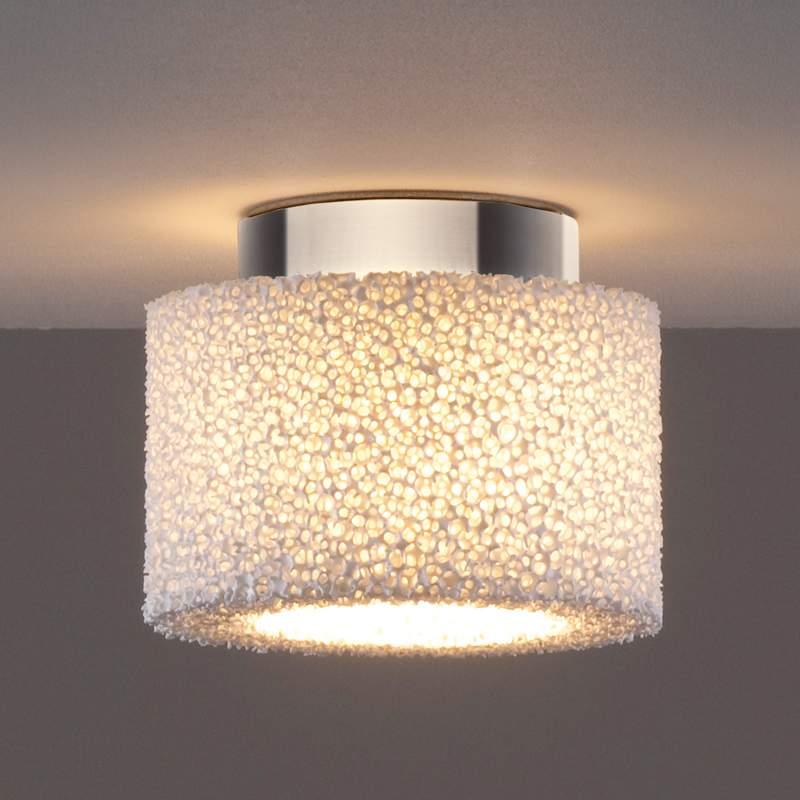 Reef - een LED plafondlamp van keramische schuim