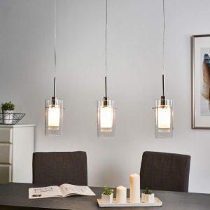 3-lichts decoratieve hanglamp DUO 1
