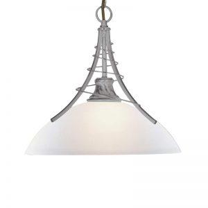 Tijdloze hanglamp LINEAS, zilver