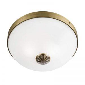 WINDSOR mooie plafondlamp met witte kap