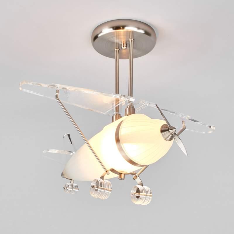 FLYA decoratieve hanglamp in vliegtuigvorm