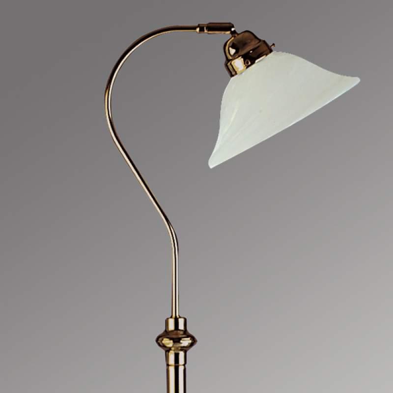 Prachtige vloerlamp BJANE, oud-messing
